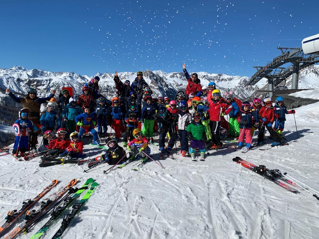 Bambini Lanci Project scuola sci