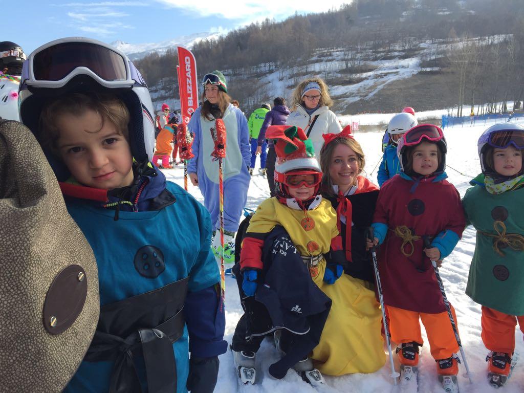 Bambini corso sci Lanci Project scuola sci