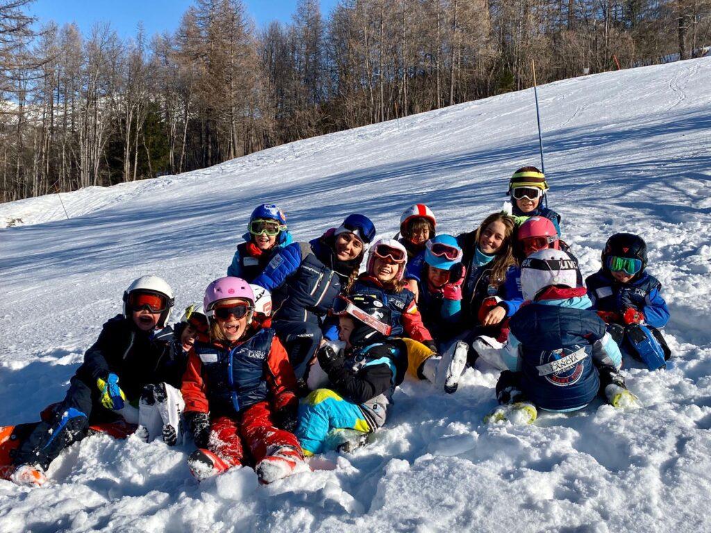 bambini scuola sci lancia project a bardonecchia